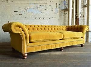 Rutland Velvet Chesterfield Sofa Abode Sofas