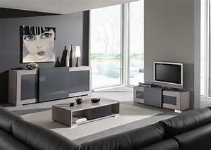 Meuble But Salon : meuble salon gris but ~ Teatrodelosmanantiales.com Idées de Décoration