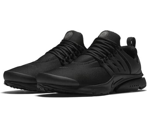 nike air presto essential herren sneaker schwarz im