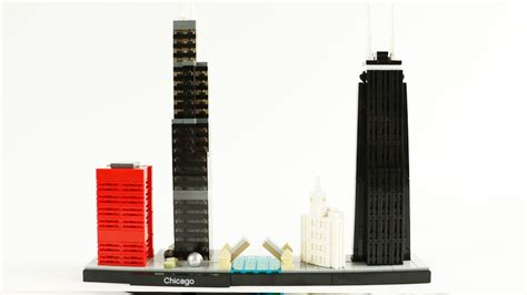 Lego Architecture Chicago Skyline  Review & Speed Build