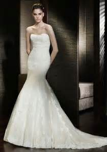 strapless mermaid wedding dresses goes wedding strapless lace mermaid wedding gown with neckline ideas