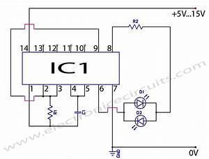 50 circuitos con el ne555 images frompo With figure 1 the simple astable multivibrator circuit using cd4047 cmos ic