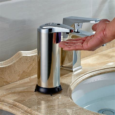 buy stainless infrared automatic sensor hand sanitizer