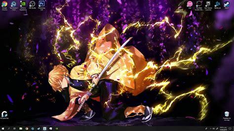 kimetsu  yaiba demon slayer wallpaper engine youtube