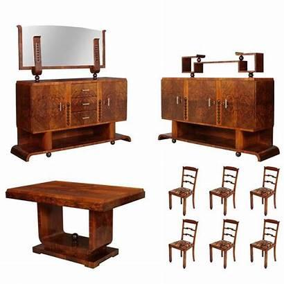 Deco Dining 1930s Furniture Borsani Chairs Osvaldo