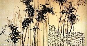 中国名画 丛竹图 郑板桥设计图__绘画书法_文化艺术_设计图库_昵图网nipic.com