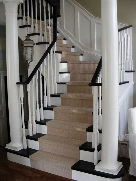 fabulous espresso wood paint staircase traditional