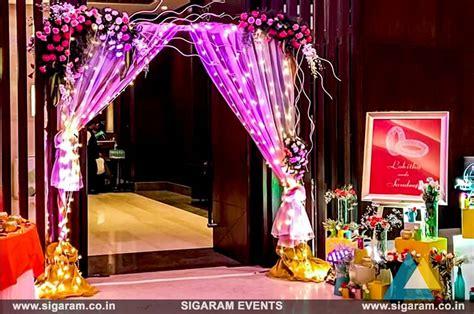 wedding  reception door entrance decorations