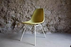 Vitra Stühle Gebraucht : stuhl charles eames v herman miller fiberglas canary yellow gelb design ikonen ~ Markanthonyermac.com Haus und Dekorationen