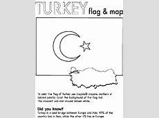 Turkey Nation Coloring Page crayolacom