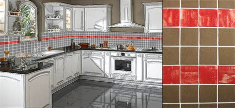 faience cuisine et blanc cuisine indogate faience salle de bain modele