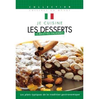 je cuisine les fanes je cuisine italien les desserts volume 6 dvd dvd zone 2