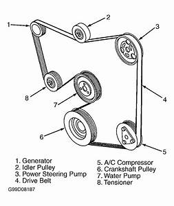 Diagram  I Need A Diagram To Put The Serpentine Belt Back