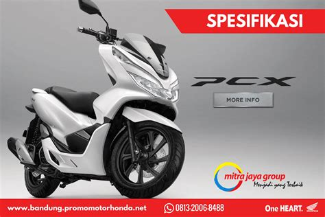 Pcx 2018 Spesifikasi by Spesifikasi Honda All New Pcx Kredit Motor Honda Bandung