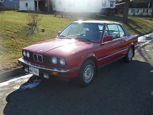 Red 1987 Bmw 325i Convertible For Sale