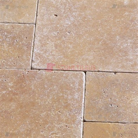 noce tumbled travertine noce tumbled french pattern travertine tiles stone tile us
