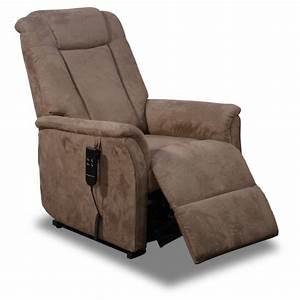 Fauteuil Et Canapé : canape de relaxation electrique 3 places et fauteuil releveur pour personne agee ~ Teatrodelosmanantiales.com Idées de Décoration