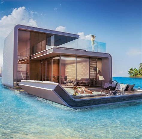 Moderne Luxushäuser by Floating Seahorses Luxusvilla Mit Unterwasseretage Welt