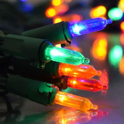 multi color led lights multi color led string lights traditional christmas lights