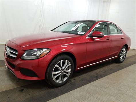 What will be your next ride? Certified Pre-Owned 2017 Mercedes-Benz C-Class C 300 4dr Car in Parkersburg #UM1737 | Astorg Auto