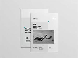 Booklet Sample Design Professional Proposal Template Free Download