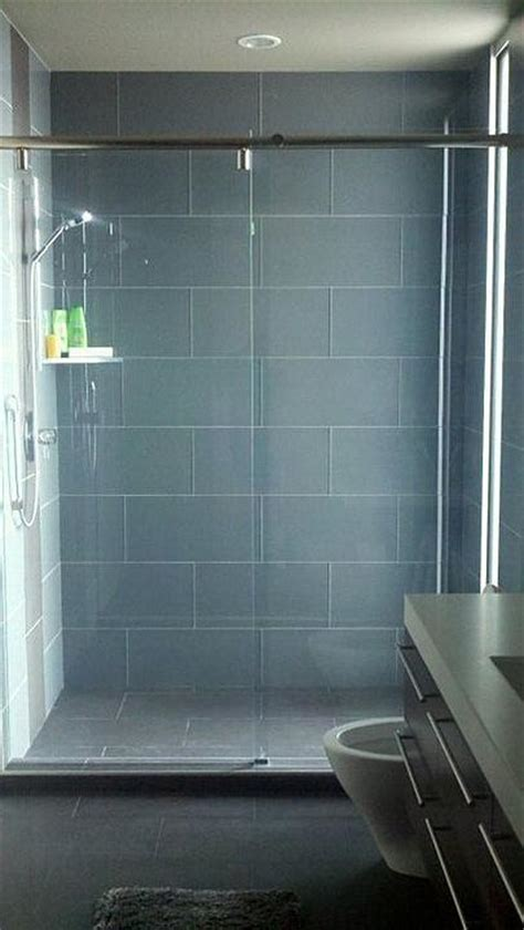 large format glass tile in showers steamers ceramic