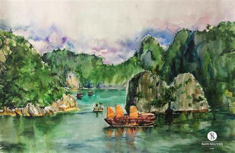beauty  halong bay vietnam  nam nguyen