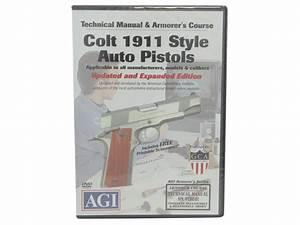 Colt 1911  45 Auto Dvd Technical Manual  U0026 Armorer U0026 39 S Course