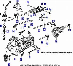 How Many Bolts Secure The Transmission On A 2003 Ford Ranger