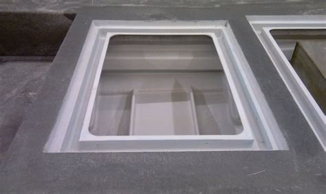 How To Build A Boat Hatch by Hatch Cover Build Boat Design Forums Fiberglass