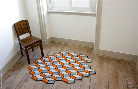 tapis trompe l oeil tapis de sol design pour une d 233 co unique design feria