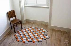 Tapis Forme Geometrique : tapis de sol design pour une d co unique design feria ~ Teatrodelosmanantiales.com Idées de Décoration