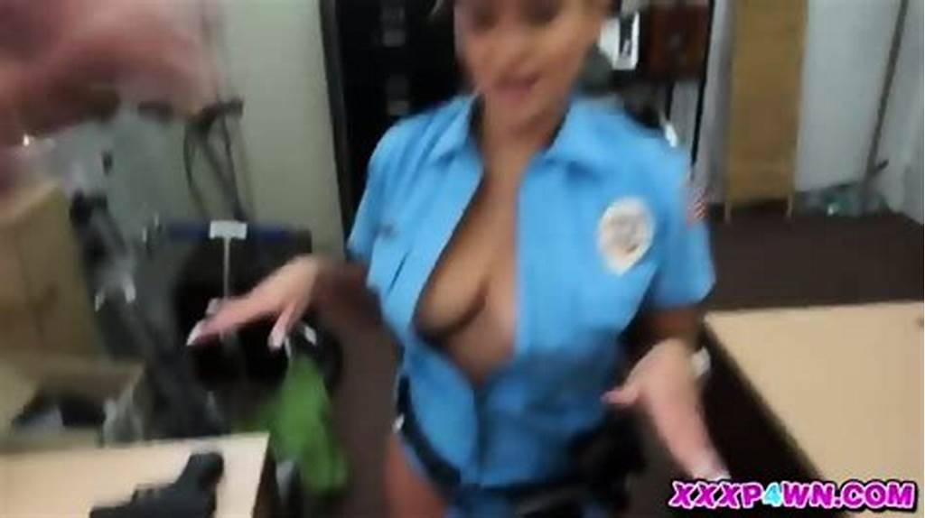 #Lady #Police #Officer #Hocks #Her #Gun #Or #Tries #To #Anyway