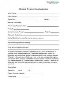 Child Medical Release Form