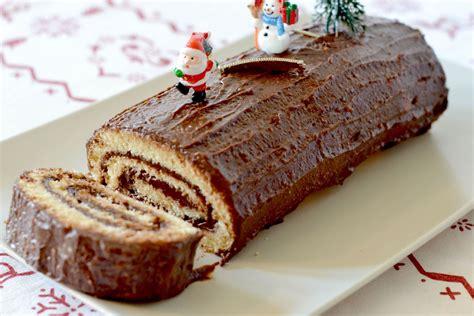 recette de buche de noel au chocolat facile