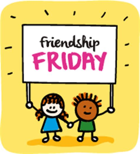 Friendship Friday  Saint Christina's School