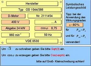 Drehstrommotor Leistung Berechnen : online training ~ Themetempest.com Abrechnung