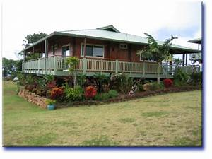 Hawaiian Cottage Plantation Style Architecture Kaua'i