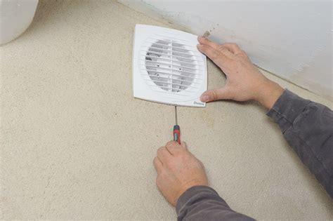 poser un extracteur d air 233 lectrique bricolage avec robert