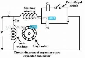 Capacitor Start Run Motor Wiring Diagram