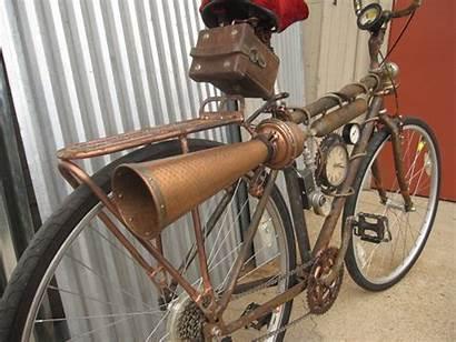 Steampunk Bicycle Build Rat Rod Bikes Photoset