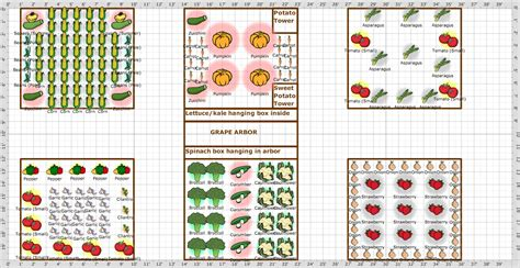 easy and simple raised bed vegetable garden layout ideas