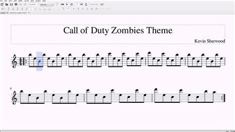 zombies theme  altobari sax sheet  youtube