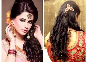 35 Simple And Trending Hairstyles with Sarees 2018