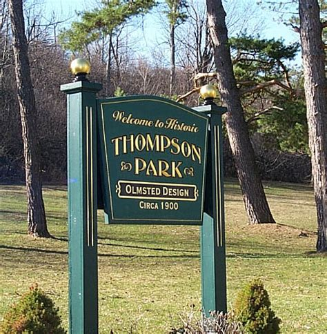 watertown ny official website historic thompson park