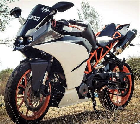 Modification Ktm Rc 390 by Modified Ktm Rc 390 With Dual Underseat Exhaust