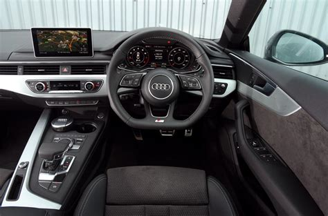 audi dashboard a5 audi a5 review 2018 autocar