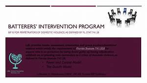 Batterers' Intervention Program - Talk Therapy with LaShonda