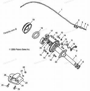 Polaris Atv Parts 2004 A04ka09ca Predator 90 Rear Brake Diagram