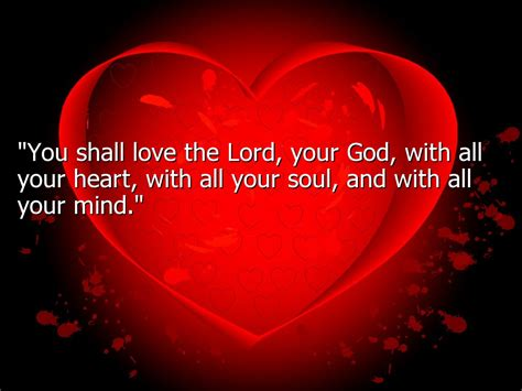 god loving between difference commandment lord whole greatest neighbor worshipping matthew commandments speaks listen shall yourself